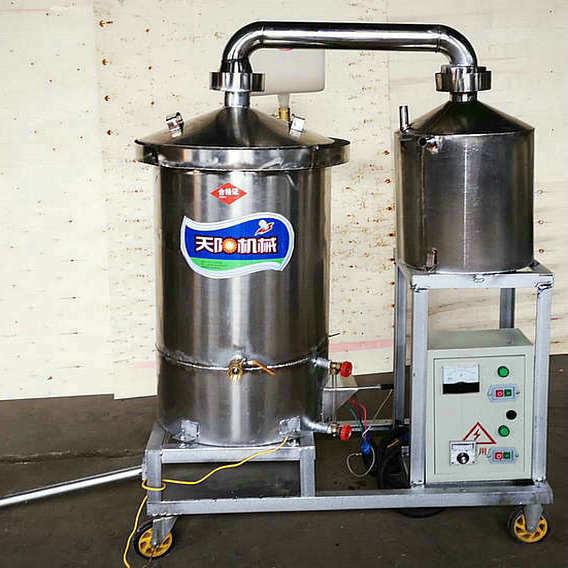 生料液态烧酒锅 玉米酿酒设备