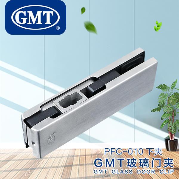 GMT玻璃门夹下无框玻璃门配件地弹簧安装玻璃门五金