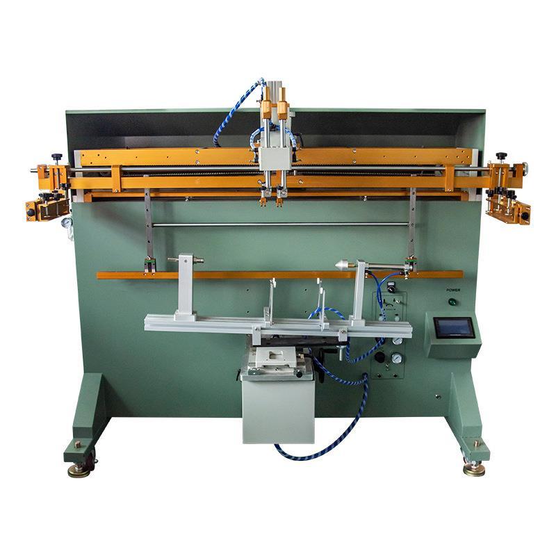 宁波市涂料桶丝印机化工桶丝网印刷机塑料桶滚印机