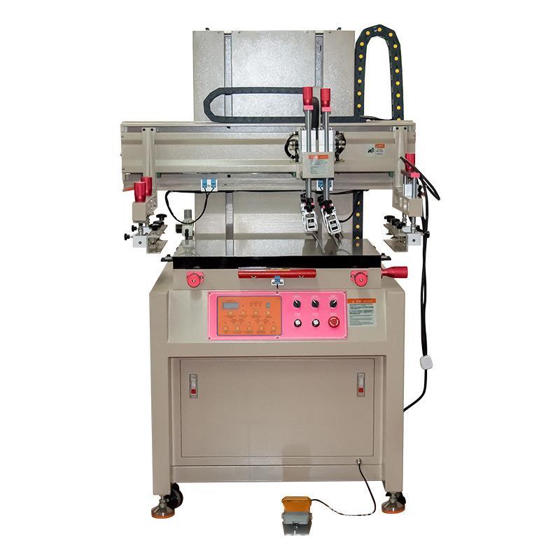嘉兴市木板丝印机铁皮丝网印刷机钢板网印机