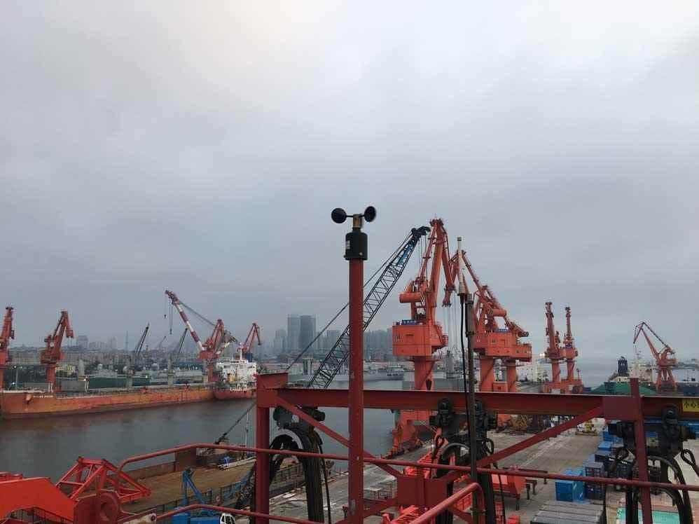 台风多发季沿海港口防风预警风速仪有多重要